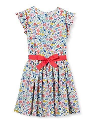 Petit Bateau 5924401 Dress, Marshmallow/Multico, 12 Ans...