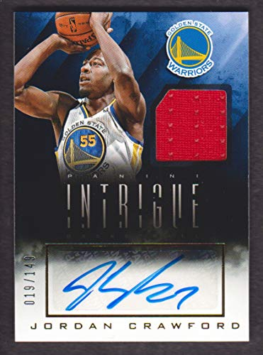2013-14 Panini Intrigue Autograph Jersey #38 Jordan Crawford /149 Auto