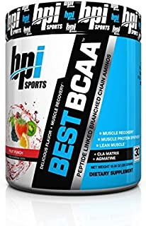 BPI Sports Best BCAA Powder, Fruit Punch, 10.58-Ounce by BPI Sports