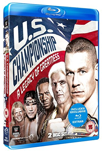 WWE: The US Championship - A Legacy Of Greatness [Blu-ray] [UK Import]