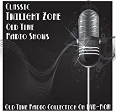 35 Classic Twilight Zone Science Fiction Old Time Radio Broadcasts on DVD (over 23 hours running time)