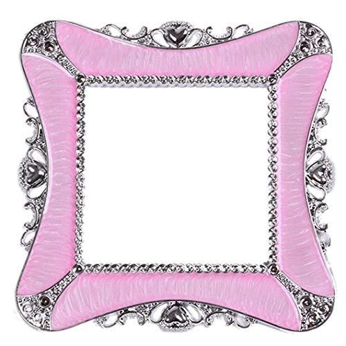 Corazón plástico cuadrado interruptor de luz pegatinas envolvente cubierta hogar etiqueta engomada decorativa rosa calidad superior delicada
