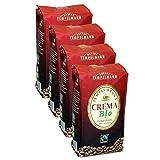 Tempelmann`s Crema Bio, 1000g ganze Bohne 4er Pack