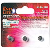 Cornerstone Products 3994 Crochet Lite Replacement Battery, 3-Pack
