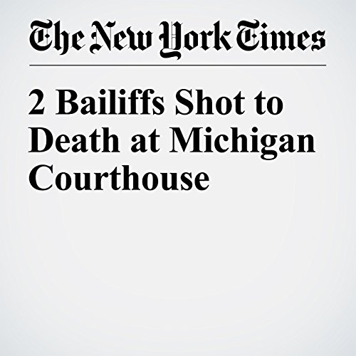 2 Bailiffs Shot to Death at Michigan Courthouse audiobook cover art
