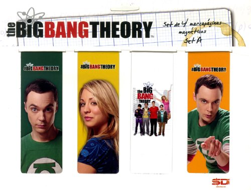 SD Toys – The Big Bang Theory, Set à Broder de Livre magnétique (sdtwrn27485)