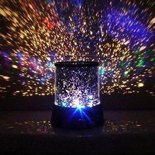 Kobwa LED Cielo Estrellado Romantik Cielo proyector Star Master luz nocturna lámpara portátil proyector de estrellas Cielo
