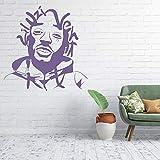 Cool Rap Rock Street Singer Wall Sticker Decal Artist Sticker Rapper Home Youth Court Dormitorio Art Deco Dance Star Unique KTV Alternative Bar 82x84cm