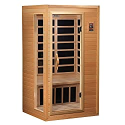 Golden Designs AMZ-GDI-3106-01 Dresden 2-Person Far Infrared Sauna