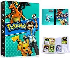 Pokemon Kaartenhouder Album Folder Binder Boek 30 pagina's 240 Kaarten Capaciteit (Blauw Ash)