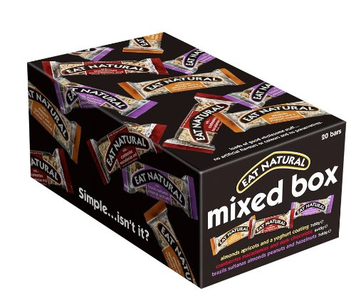Eat Natural Mixed Box 20 Bars 50gm each