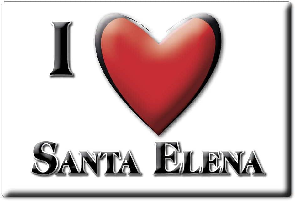Enjoymagnets Santa Elena (J) Souvenir IMANES DE Nevera ESPAÑA ANDALUCÍA IMAN Fridge Magnet Corazon I Love