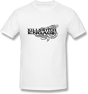 RZF Men's Killswitch Engage Logo T-Shirt- White