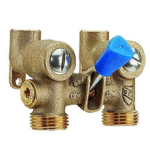 Watts 1/2 175C 1/2 inch Bronze Ball-Type Washing Machine Shutoff Valve