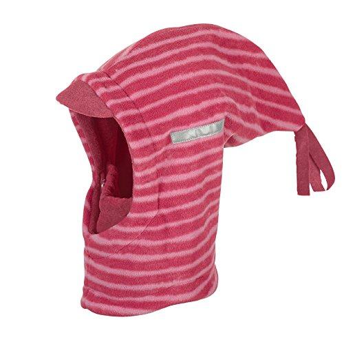 Sterntaler Schalmütze mit Zipfel und Reflektorstreifen, Alter: ab 4-6 Jahre, Größe: 55, Rot (Beerenrot)