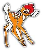 valstick Bambi Cartoon Car Bumper Sticker Decal