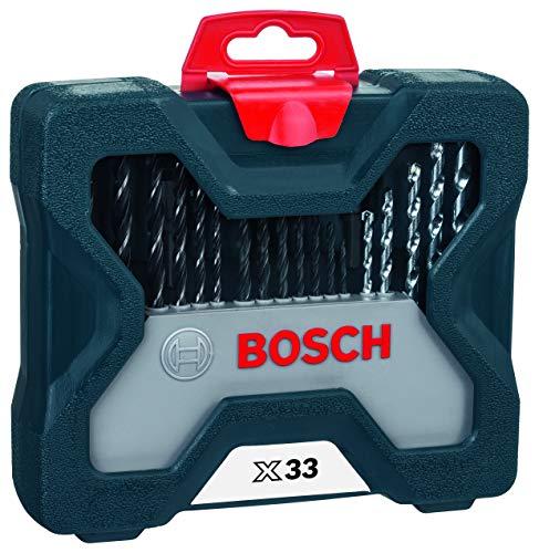 Kit de Pontas e Brocas Bosch X-Line 33 pçs