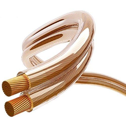 Maclean MCTV-621-2 - Cable Audio OFC Libre de oxígeno Profesional para Altavoces,...