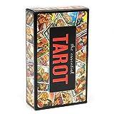 78pcs The Essential Tarot Deck Game Toy Adivination Desbloquea los Secretos de los Amigos Antiguos y místicos Que juegan a Las Cartas de Juego de Mesa de Fiesta Familiar