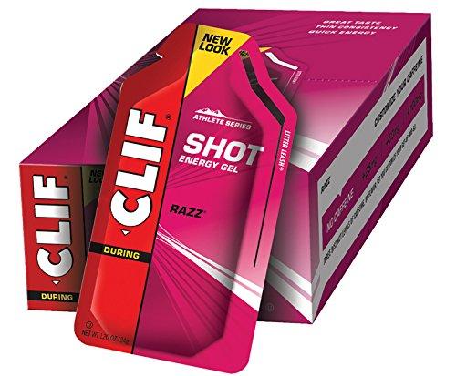 clif energy gel razz - 3
