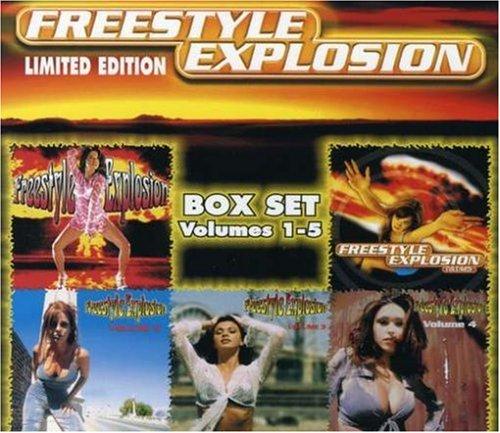 Freestyle Explosion (Vol. 1-5) [5 CD Box Set]