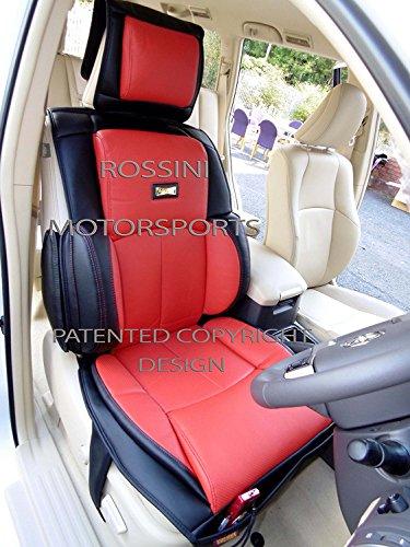 R – Fundas de asiento para Citroen XSARA Picasso, coche YS06 negro/rojo, soporte trasero