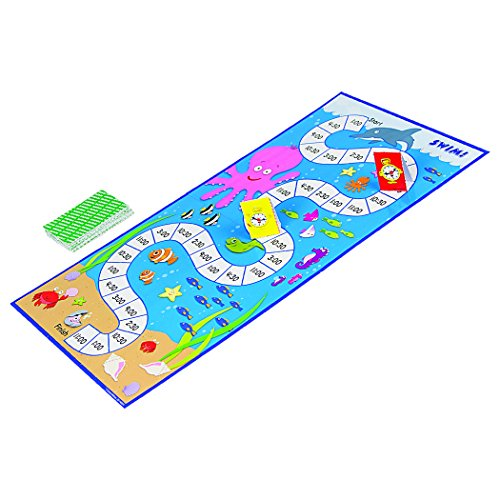 51Pu3kOPPlL - Carson Dellosa What Time Is It? Judy Clock Board Game Set—On The Farm, Time With Friends, Swim, Safari Time-Telling Board Games With Game Cards and Player Pieces, 2-4 Players, Ages 5+