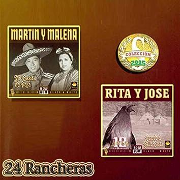 24 Rancheras