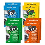 Baja Beef Jerky Variety Pack | Keto Friendly, Gluten Free, Low Calorie, Craft Jerky | 25g Protein, 100% All-Natural Beef, No Nitrates | 8 pack 1 Oz Bags