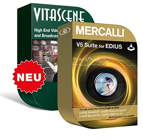ProDAD Mercalli V5 Suite (SAL+Plugins) + Vitascene V3 Pro - für EDIUS 9