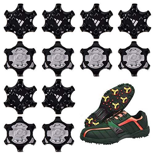 Tacos De Golf Zapato Picos Rosca Pequeña De Metal, para Zapatos Zapato con Clavos Accesorios De Golf Tacos De Golf para Zapatos De Golf para Zapatos De Golf, Clavos De Golf, Crampones(10 Piezas)