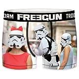FREEGUN Star Wars - Calzoncillos tipo bóxer para hombre (tallas S, M, L, XL, XXL), diseño de soldado tormenta de la guerra de las estrellas diseño 2 XXL