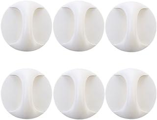 Dee Plus 6 st skåphandtag självpinne omedelbar skåp låda grepp badrum dörr skåp skåp dragare, för skåp, kylskåp, möbeldörr...