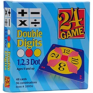 Original 24 Game Cards Double Digits:Carsblog