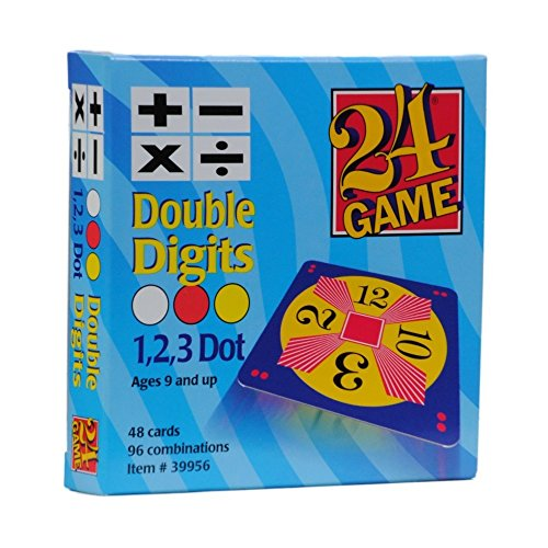 24 Game Cards Original Double Digits by