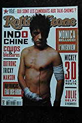 ROLLING STONE T 04351 8 COVER INDOCHINE MONICA BELLUCI MARILYN MANSON JULIE DELPY TRICKY DUTRONC MICKEY 3D - 2003 05