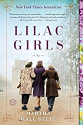 back of three girls walking lilac girls book cover