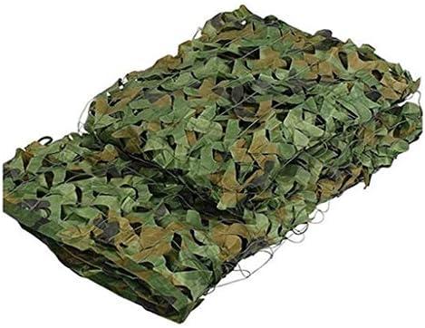 Jungle Zon Shelter Camouflagenetten 4x4m13X13FT Hunting BosCamo Verrekening Car Covers Camping Decoration Nets ColorCamo Green Size2x3m6x10ft
