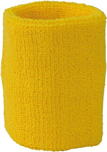 MYRTLE BEACH Bandeau de poignet en éponge souple (gold-yellow)