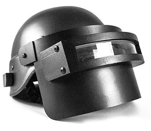 BUG-LPH Level 3 Helmets Game Cool Cosplay PUBG, Battlegrounds Tactical Mask ABS Black Chicken Dinner