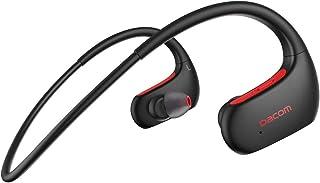 DACOM Bluetooth ヘッドセット スポーツ用 高音質 重低音 Bluetooth V5.0 ランニング IPX7防水規格 耳掛け式 液体シリコン 装着感快適 ワイヤレス ヘッドホン ブルートゥース イヤホン 無線 CVC6.0ノイズ...