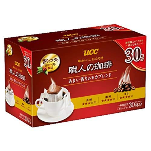 職人の珈琲 ドリップコーヒー あまい香りのモカブレンド 30杯分