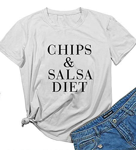 YEXIPO Women's Chips and Salsa Diet…
