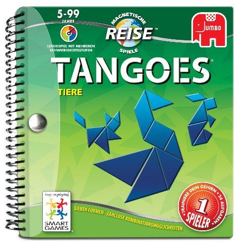 Jumbo 17627 - Smartgames - Reisespiel - Tangoes Tiere