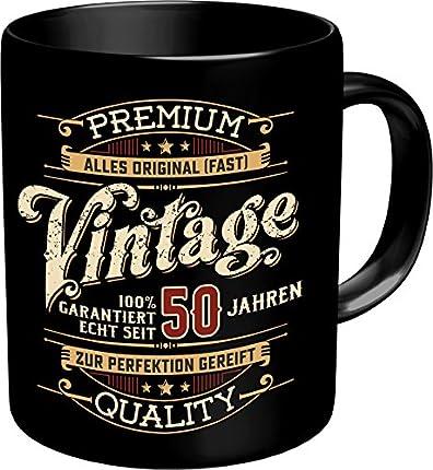 Taza vintage de 50 años.