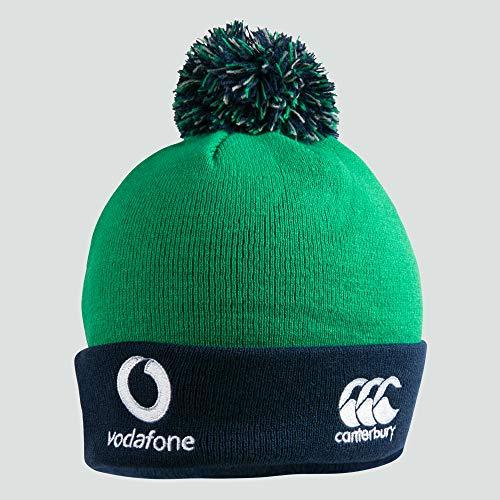 Canterbury Men's Ireland Acrylic Bobble Hat, Progressive Green, One Size