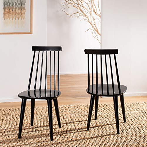 Safavieh American Homes Collection Black Spindle Side Chair