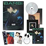 EXO BAEKHYUN 3rd Mini Album - BAMBI [ PHOTOBOOK(NIGHT RAIN) ver. ] CD + Photobook + Lyrics Book + Folded Poster(On Pack) + Clear Card + Sequence Flim + Postcard + Photo Card + OFFICIAL POSTER