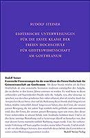 Esoterische Unterweisungen fuer die erste Klasse der Freien Hochschule fuer Geisteswissenschaft am Goetheanum 1924: Neunzehn Stunden und sieben Wiederholungsstunden, gehalten in Dornach zwischen dem 15. Februar und 20. September 1924, sowie vier Einzelstunden, gehalten in Prag, Bern und London im April und August 1924.