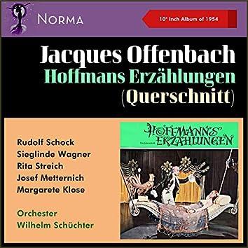 """Jacques Offenbach: Hoffmans Erzählungen - Querschnitt (10"""" Album of 1954)"""